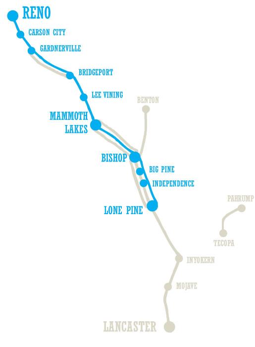 Lone Pine To Reno Eastern Sierra Transit Authority