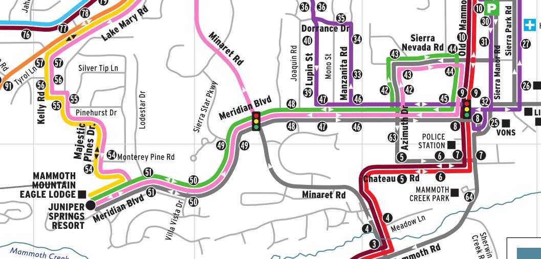 Green Line – Eastern Sierra Transit Authority