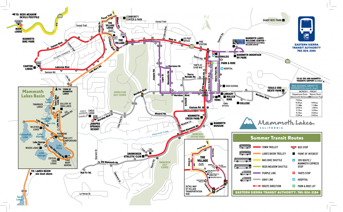 Seasonal – Eastern Sierra Transit Authority